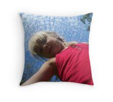 Ring Around the Rosie Throw Pillow