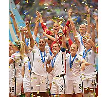 Womens World Cup 2015 Photographic Print