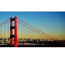 Golden Gate Bridge - San Francisco (USA) Photographic Print