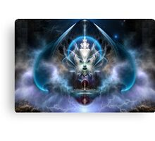 Thera Of Titan The Serenity Of Time Canvas Print