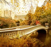 Bow Bridge Autumn Gold by Jessica Jenney