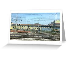 To Rome. Greeting Card