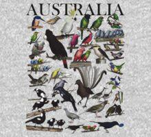 Birds of Australia 1 Kids Clothes