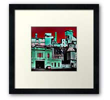 The Factory Framed Print