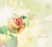 Spring Flowers Double Exposure by Yannik Hay