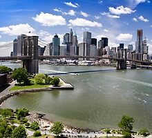 New York City, the Brooklyn Bridge by Reinvention