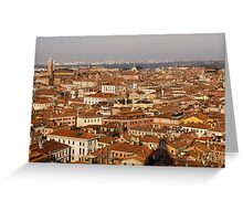 Venice, Italy - No Canals Greeting Card