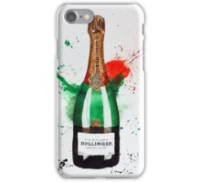 Bollinger Champagne Bottle iPhone Case/Skin