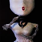 Self Portrait, Abstract Sculpture by Christina Rodriguez