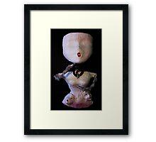Self Portrait, Abstract Sculpture Framed Print