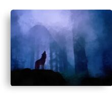 Welcoming the Night Canvas Print
