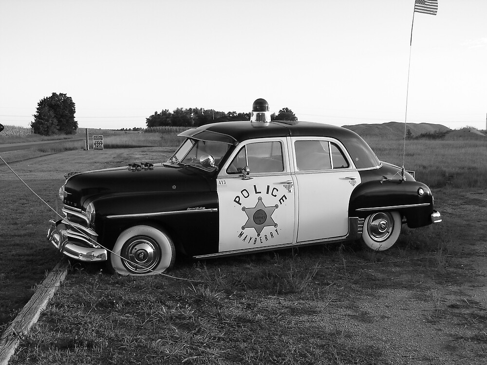 Old Police Cruiser by inventor