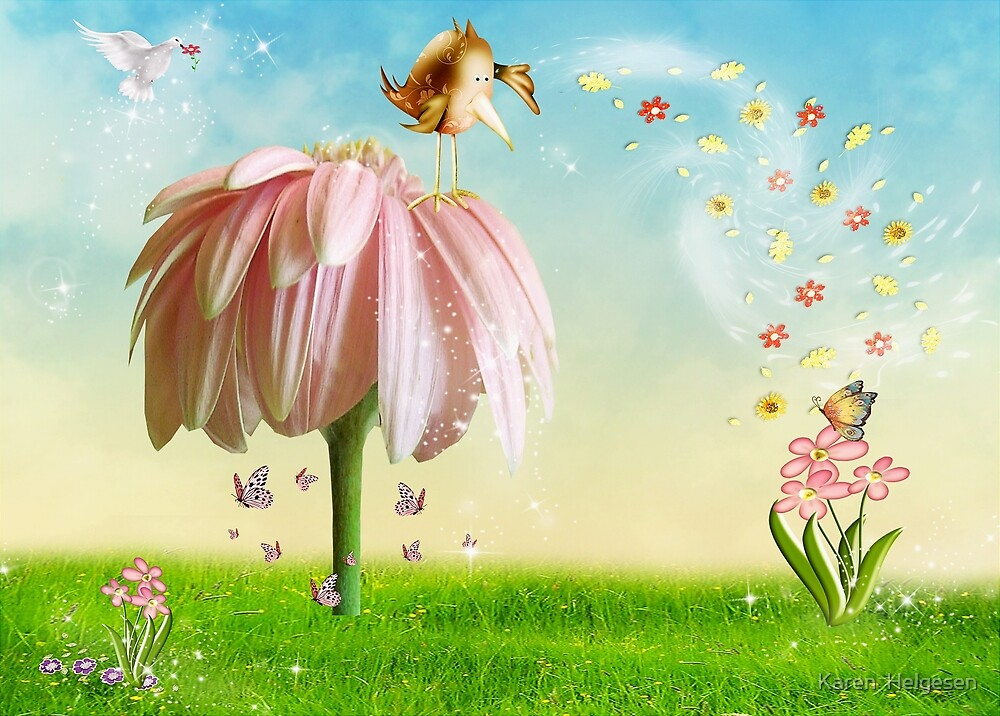 Sprinkling Kindness... by Karen  Helgesen