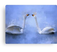 Whispers of sweet nothings Canvas Print