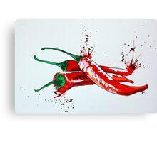 Red Hot Chilli Pepper Canvas Print
