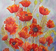 Poppy Love by bevmorgan