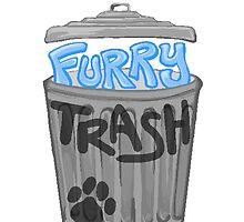 Furry Trash by Rivkah