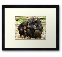 Tell me all about it Framed Print