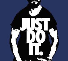 """Shia Labeouf """"JUST DO IT"""" by Gregory Wilson"""
