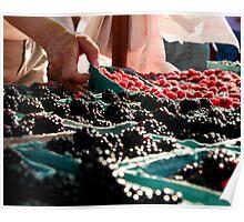Picking Berries Poster