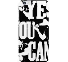 YES YOU CAN - Shia Labeouf (black) iPhone Case/Skin