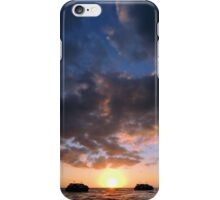 Drifting Couple - Sky iPhone Case/Skin