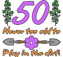 50th Birthday For Gardeners by thepixelgarden