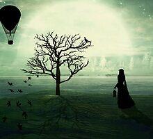 Living In Between... by Karen  Helgesen