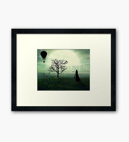 Living In Between... Framed Print