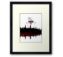 Stay Puft Framed Print