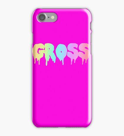 Gross! (pink) iPhone Case/Skin