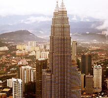 Petronas Towers by Pamela Rose Sime