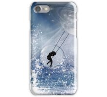 ...And the Whale Jumped Over the Moon... iPhone Case/Skin