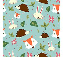 Critter Pattern Photographic Print