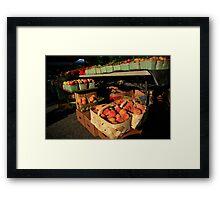 Farmers Market Series Framed Print