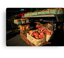 Farmers Market Series Canvas Print