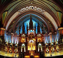 Basilica Notre Dame (Montréal) by Juergen Weiss