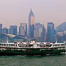 Star Ferry, Hong Kong by Terry Mooney