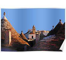 Trullo, Alberobello,Puglia, Italy Poster