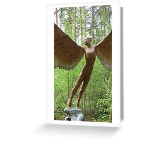 Naive Icarus Greeting Card