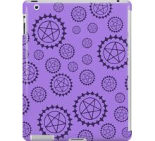 black butler pattern iPad Case/Skin