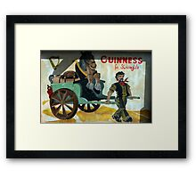 strong stuff this Guiness Framed Print