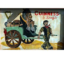 strong stuff this Guiness Photographic Print