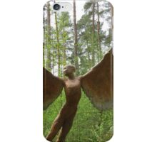 Icarus spreads his wings iPhone Case/Skin
