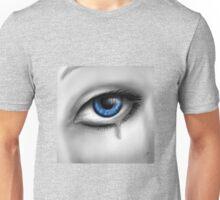 Blue Eyes Cry Unisex T-Shirt