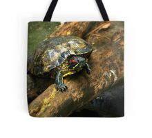 The Red-Eared Slider   Tote Bag