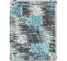 Blue & Gray Pixel iPad Case/Skin