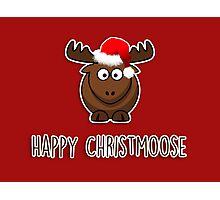 Happy Christmoose Photographic Print