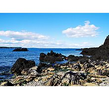 """"""" Bay of Fundy Shores """" Photographic Print"""