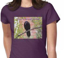 Love is not self-seeking Womens Fitted T-Shirt